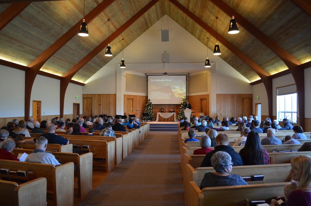 Zion Mennonite Church Oregon